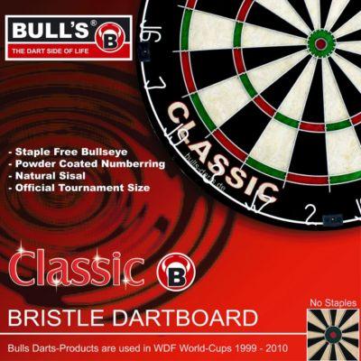 Bull&acutes Classic Bristle Dartboard