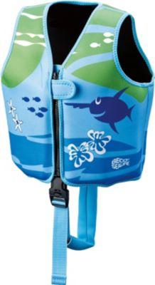 beco-sealife-09639-008-sealife-schwimmweste-blau-grun