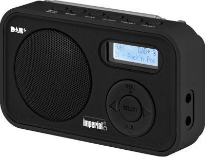 IMPERIAL DABMAN 12 Mobiles DAB+ und UKW Radio