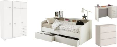 Kinderzimmer Sleep Parisot 6-teilig inkl Bett &amp Schreibtisch | Kinderzimmer > Kindertische > Kinderschreibtische | Parisot