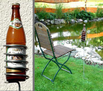 bellissa Bierflaschenhalter, 5 Stück
