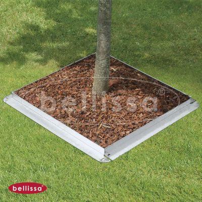 Rasenkante comfort mit Mähkante, 9x59 cm, 4er Set