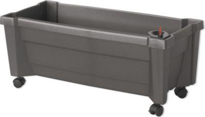 khw pflanzkasten calypso mit bew sserungssystem und rollen. Black Bedroom Furniture Sets. Home Design Ideas