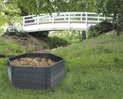 Hochbeet Flexo Grundvariante, LxBxH 130x130x50, auch als Komposter verwendbar