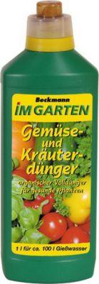 1 Ltr. Beckmann Gemüse und Kräuterdünger
