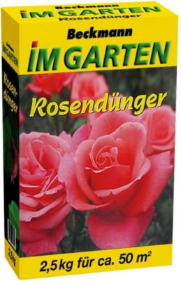 Beckhorn ® Rosendünger 4x 2,5 kg