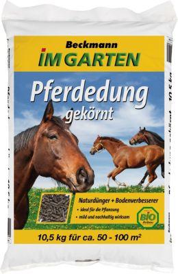 Beckhorn BIG Pferdedung, gekörnt, 10,5 kg Beutel ausreichend für ca. 50-100 qm