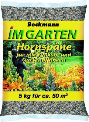 Beckhorn BIG Hornspäne, 14 %N, 5 kg Beutel ausreichend für ca. 50 qm