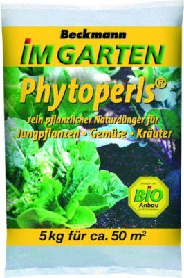 Beckhorn BIG Bio Phytoperls, rein pflanzlicher Naturdünger, 7+5+1, 5 kg Beutel