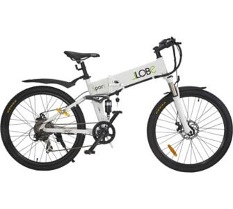 LLobe Alu Elektro Mountain Faltrad 26 Zoll Sport, 7 Gang Shimano-Schal