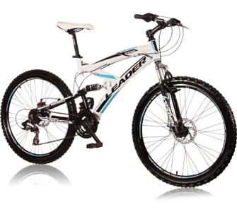 """VCM 26 Zoll Mountainbike """"ENERGY"""" Weiss-Schwarz-Blau"""