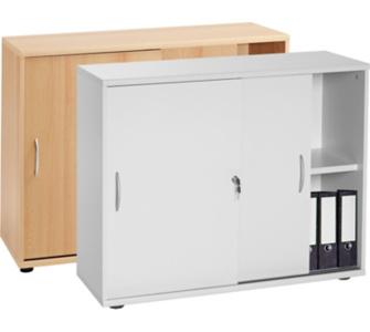 VCM Sideboard Omegos 470 | Schrank mit Schiebetüren