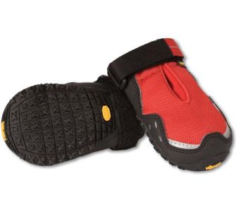 Ruffwear Bark'n Boots Grip Trex Hundeschuhe rot
