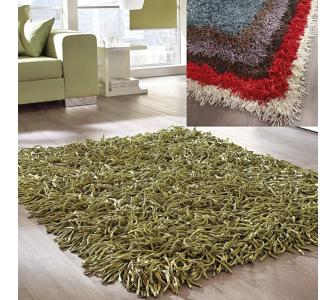 """Trendfabrik Teppich """"Zottel"""", grün, Gr.90x160"""