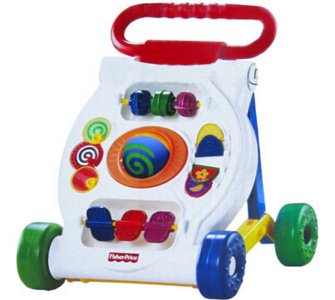 FISHER PRICE Activity Lauflernwagen K9875