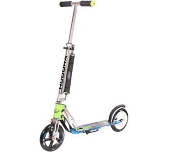 HUDORA Scooter Big Wheel 205 blau/grün 14750