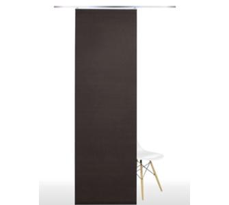 liedeco fl chenvorhang stoff roma schiebevorhang m bel preisvergleich g nstig kaufen bei. Black Bedroom Furniture Sets. Home Design Ideas