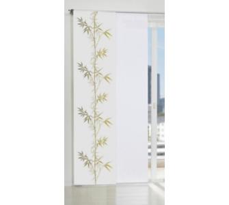 SCHMIDTGARD STOFFE Schiebevorhang Fabia mit Motiv Bambus im Digitaldru