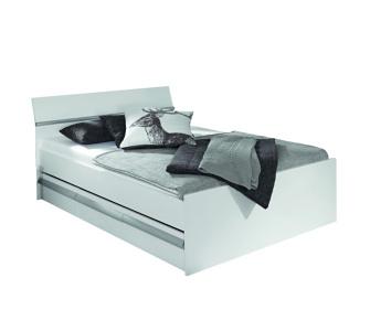 rauch Funktionsbett Weiß mit Schubkasten