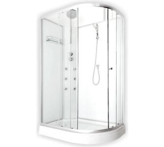Home Deluxe Poseidon 120x80 rechts Duschtempel Dusche Duschkabine, ink