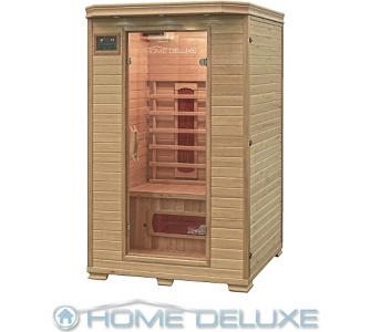 Home Deluxe Redsun M Infrarotsauna Infrarotkabine Sauna, inkl. komplet