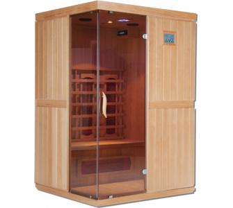 Home Deluxe California L Infrarotsauna Infrarotkabine Sauna, inkl. vie