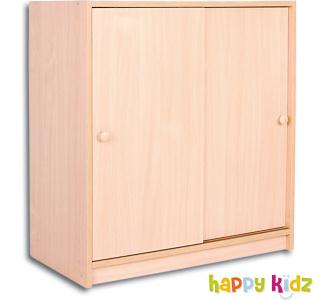 HappyKidz Schrank mit Schiebetüren