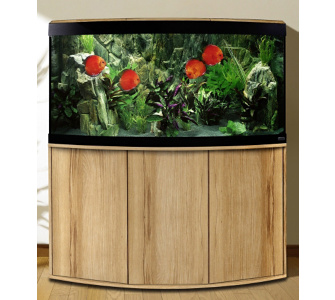 FLUVAL Aquarium Set »Vicenza« in Kernbuche