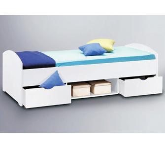 bett mit bettkasten weiss preisvergleiche. Black Bedroom Furniture Sets. Home Design Ideas