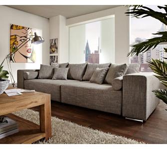 DeLife Couch Marbeya Hellgrau