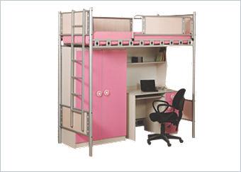 jugendzimmer hochbett mit schrank und schreibtisch of. Black Bedroom Furniture Sets. Home Design Ideas