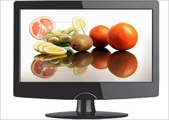Plus Q.MEDIA QL24A2-C - 61 cm (24 Zoll) FullHD LCD-TV mit DVB-T