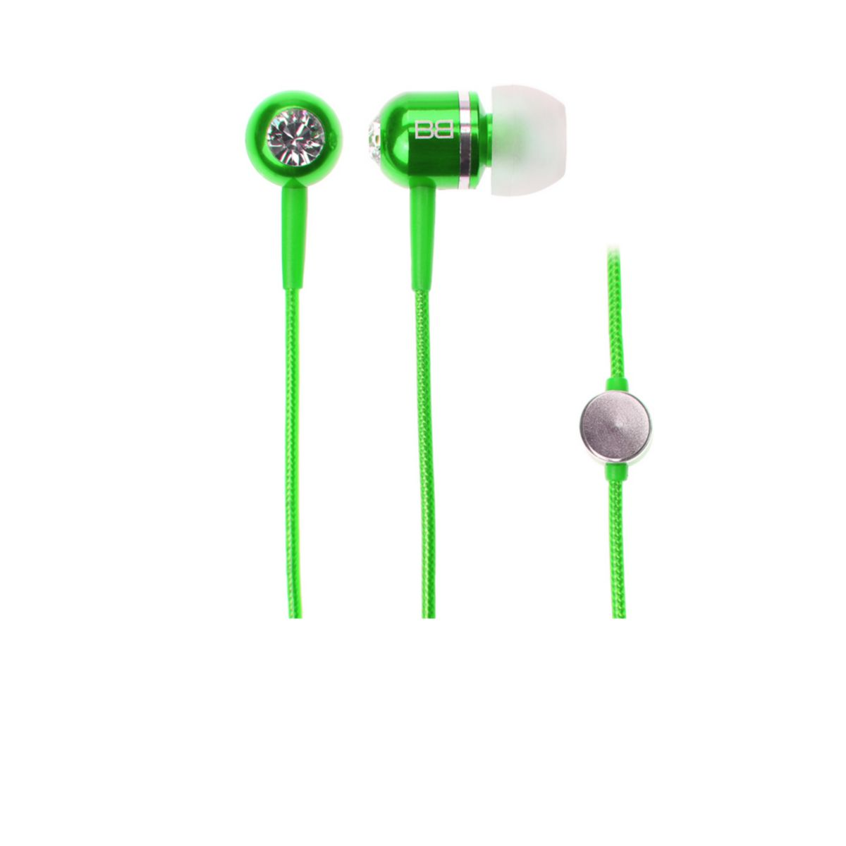 BassBuds Classic Collection - grün jetztbilligerkaufen