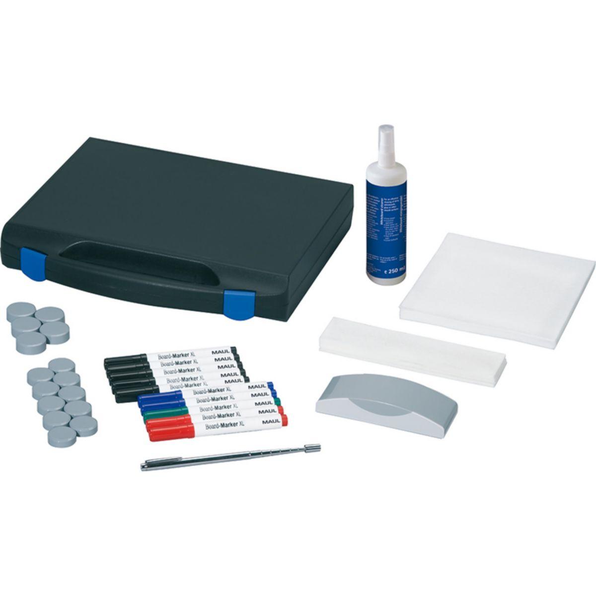 Maul Whiteboard Zubehör-Set Koffer inkl. 10 Boardmarkern, Tafelwischer, Reiniger, Kugelschreiber, K jetztbilligerkaufen