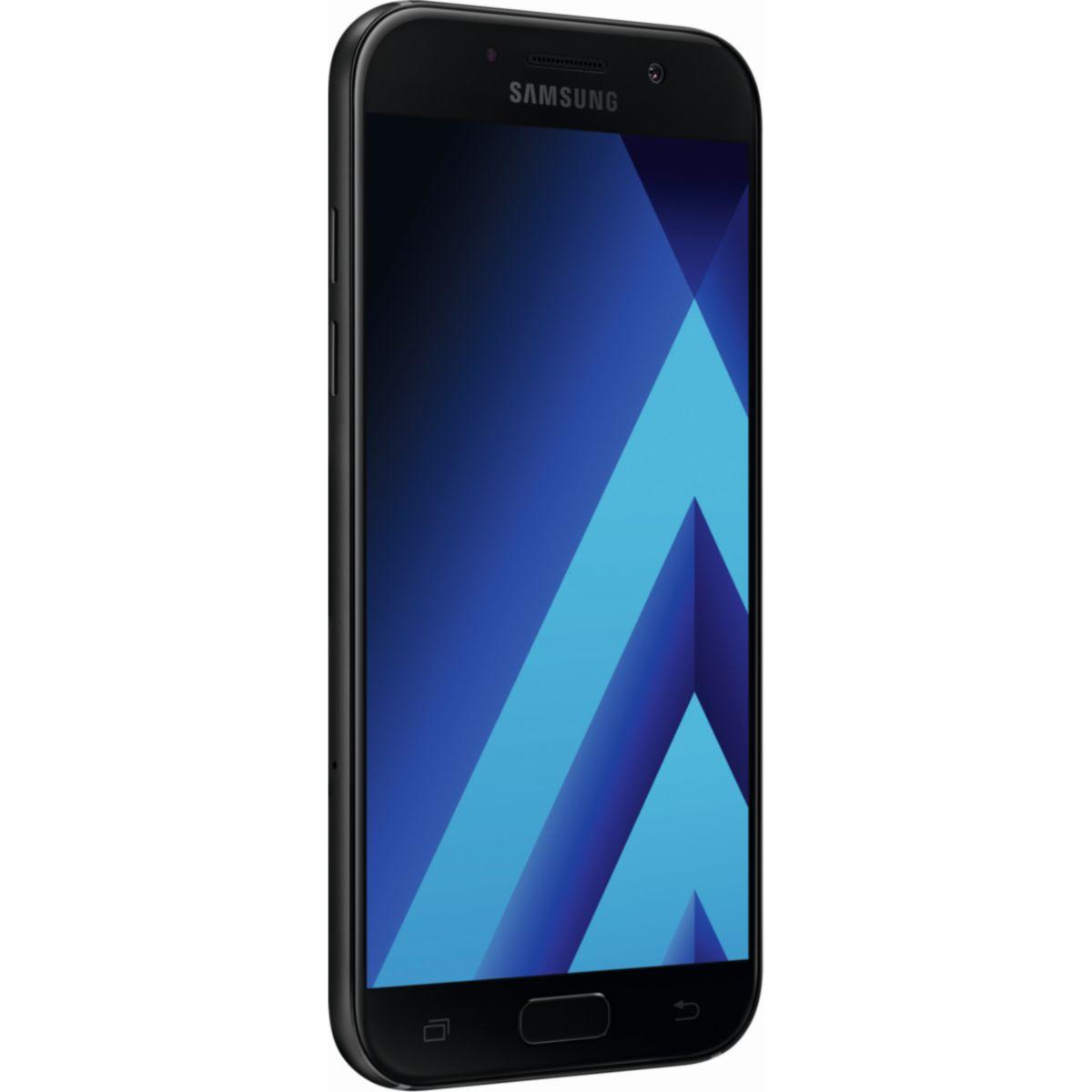 Samsung Galaxy A5 2017 SM-A520F 32GB Smartphone black-sky - DE Ware - broschei