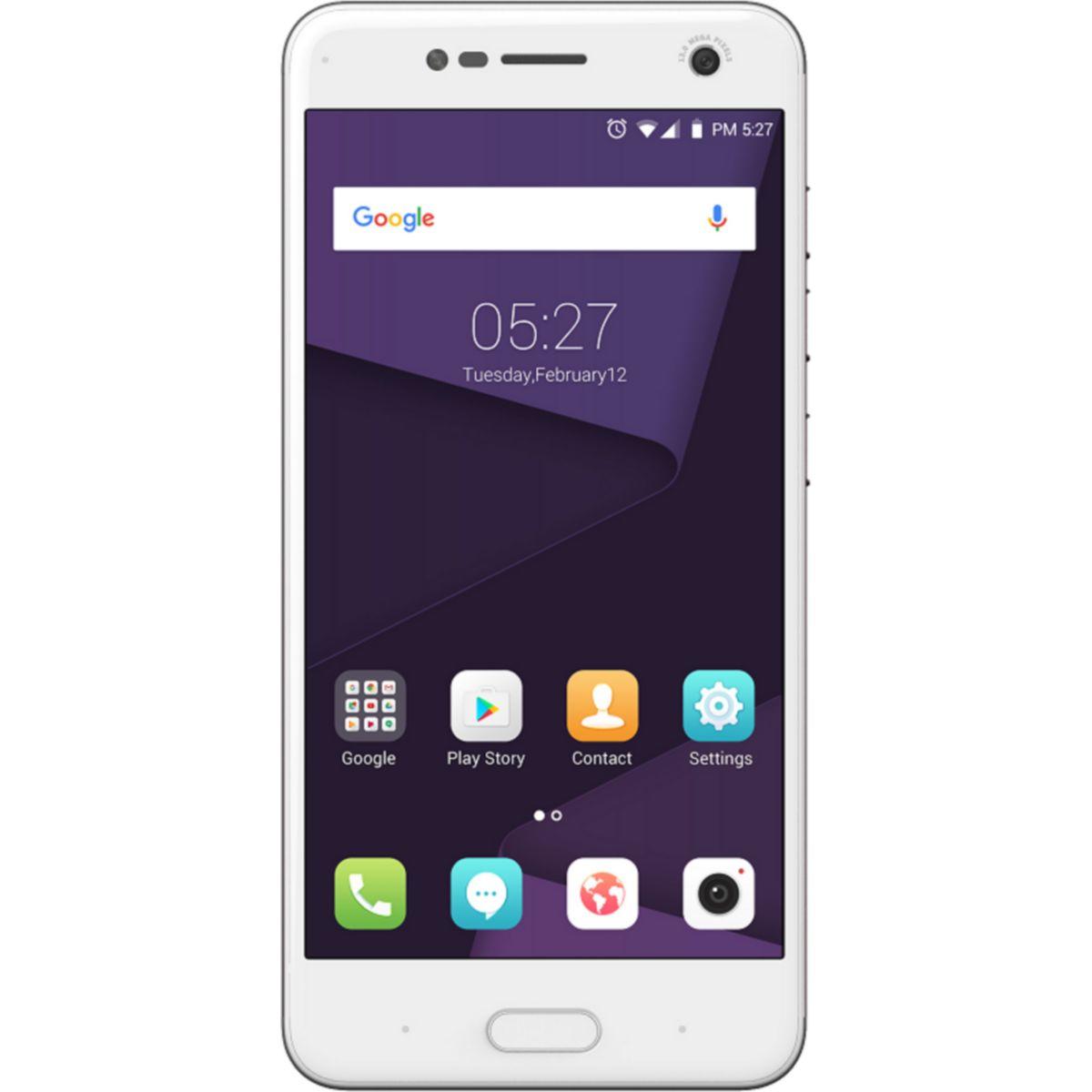 ZTE Blade V8 - Smartphone Dual-SIM 4G LTE 32GB microSDXC slot GSM 5.2 1,920 x 1,080 Pixel IPS 13 MP (13 Vorderkamera) Android Gold (126664001013) - broschei