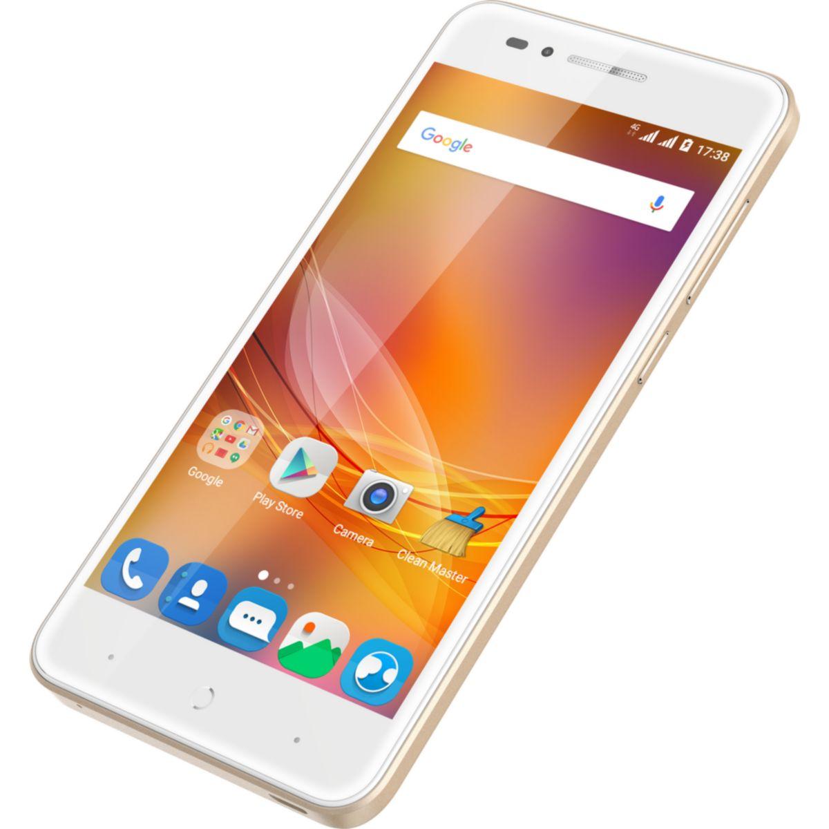 ZTE Blade A612 - Smartphone Dual-SIM 4G LTE 16GB microSDHC slot GSM 12,70cm (5) 1,280 x 720 Pixel IPS 13 MP (2 Vorderkamera) Android Gold (126665001020) jetztbilligerkaufen