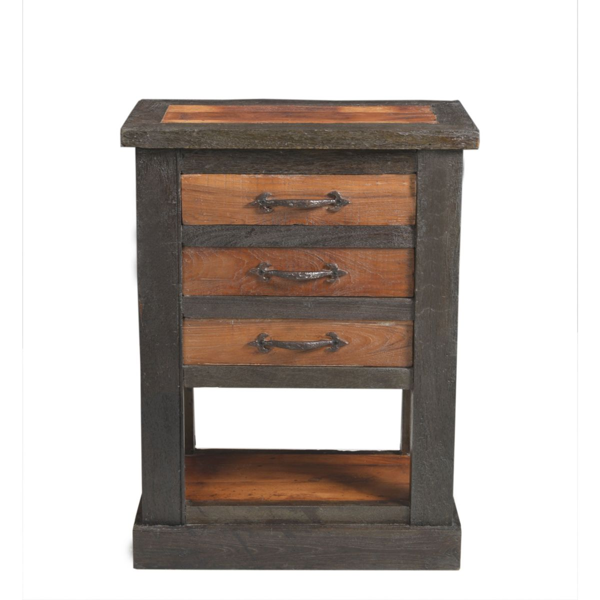 Telefontisch recyceltes Holz natur massiv jetztbilligerkaufen