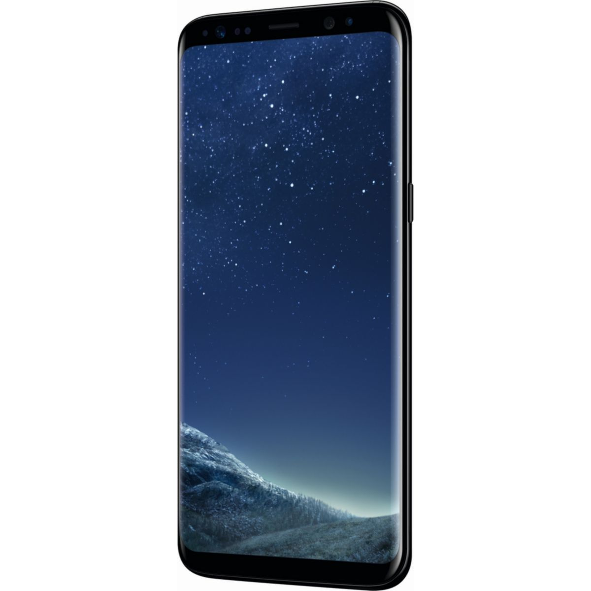 Samsung Galaxy S8 G950F 64GB LTE midnight black Smartphone - DE Ware - broschei
