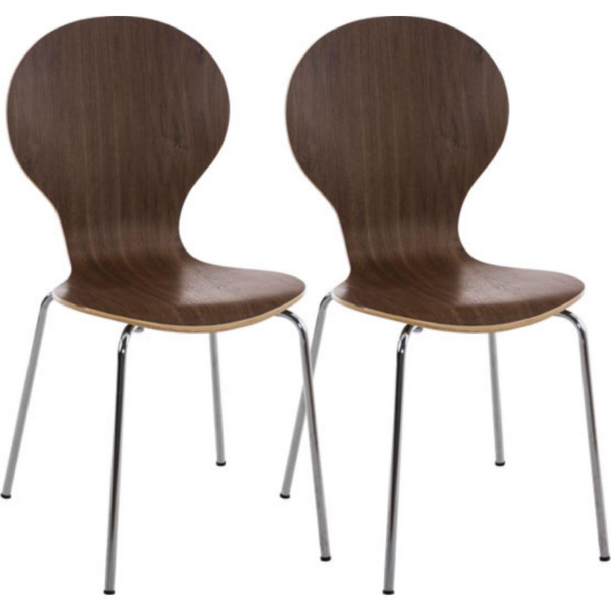 2x robuster und pflegeleichter Stapelstuhl DIEGO mit Holzsitz & ergonomisch geformter Sitzfläche, bis zu 12 Farben wählbar jetztbilligerkaufen