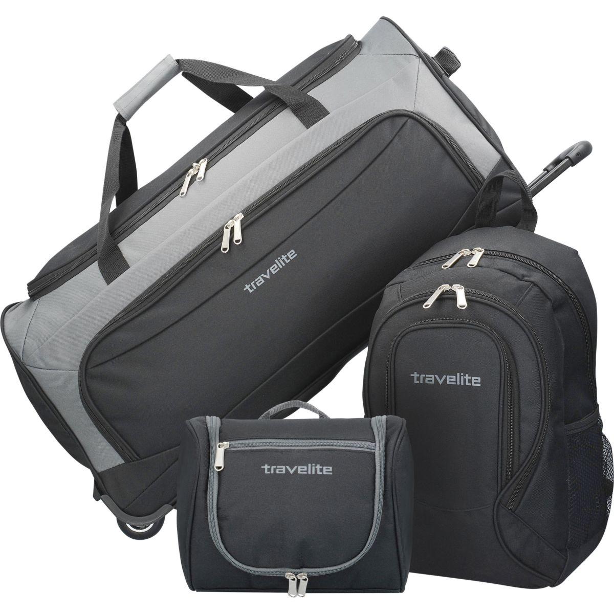 Travelite Garda XL Reiseset 3tlg Reisetasche Rucksack Kulturbeutel jetztbilligerkaufen