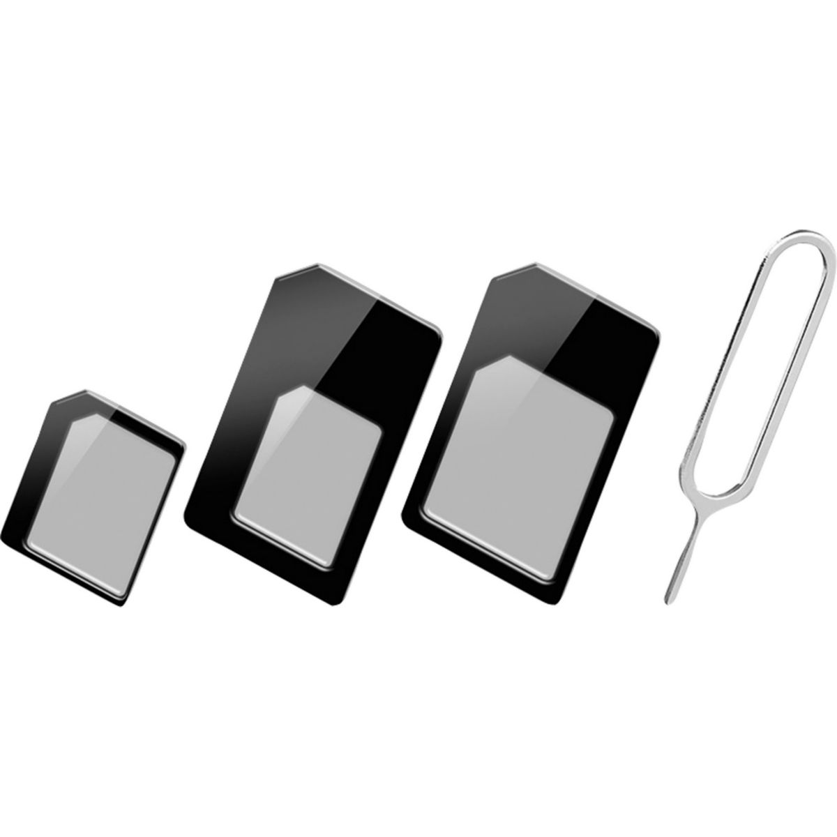 goobay SIM-Kartenadapter (3in1) mit PIN jetztbilligerkaufen