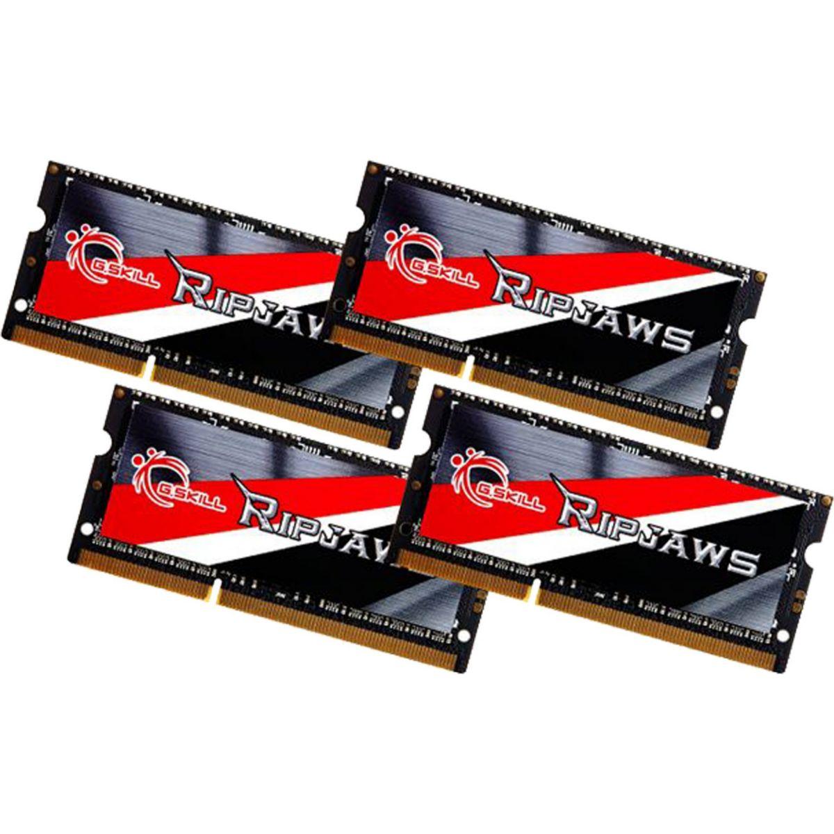 G.Skill Arbeitsspeicher SO-DIMM 32GB DDR3L-1333 Quad-Kit