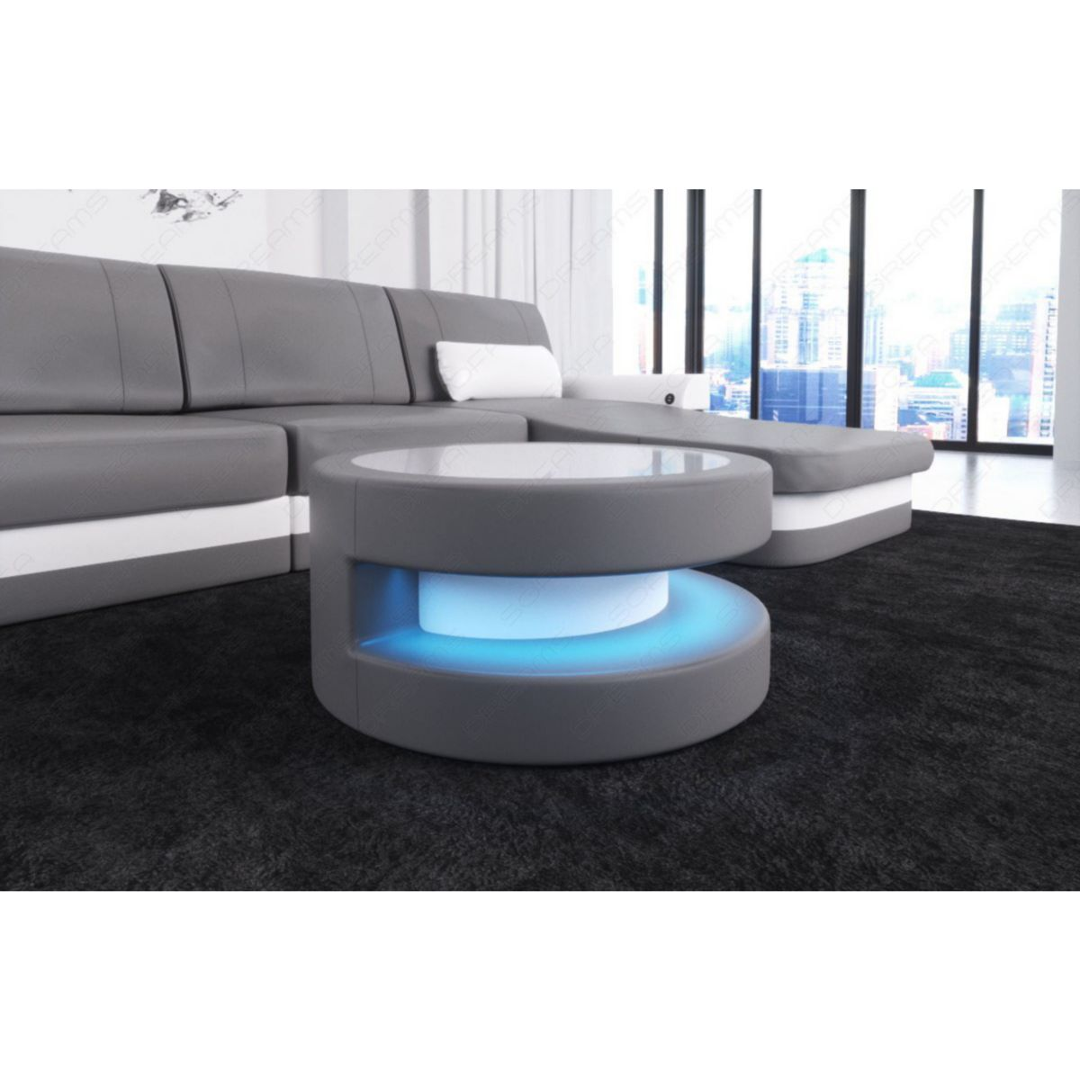 Sofa Dreams Couchtisch Modena mit LED