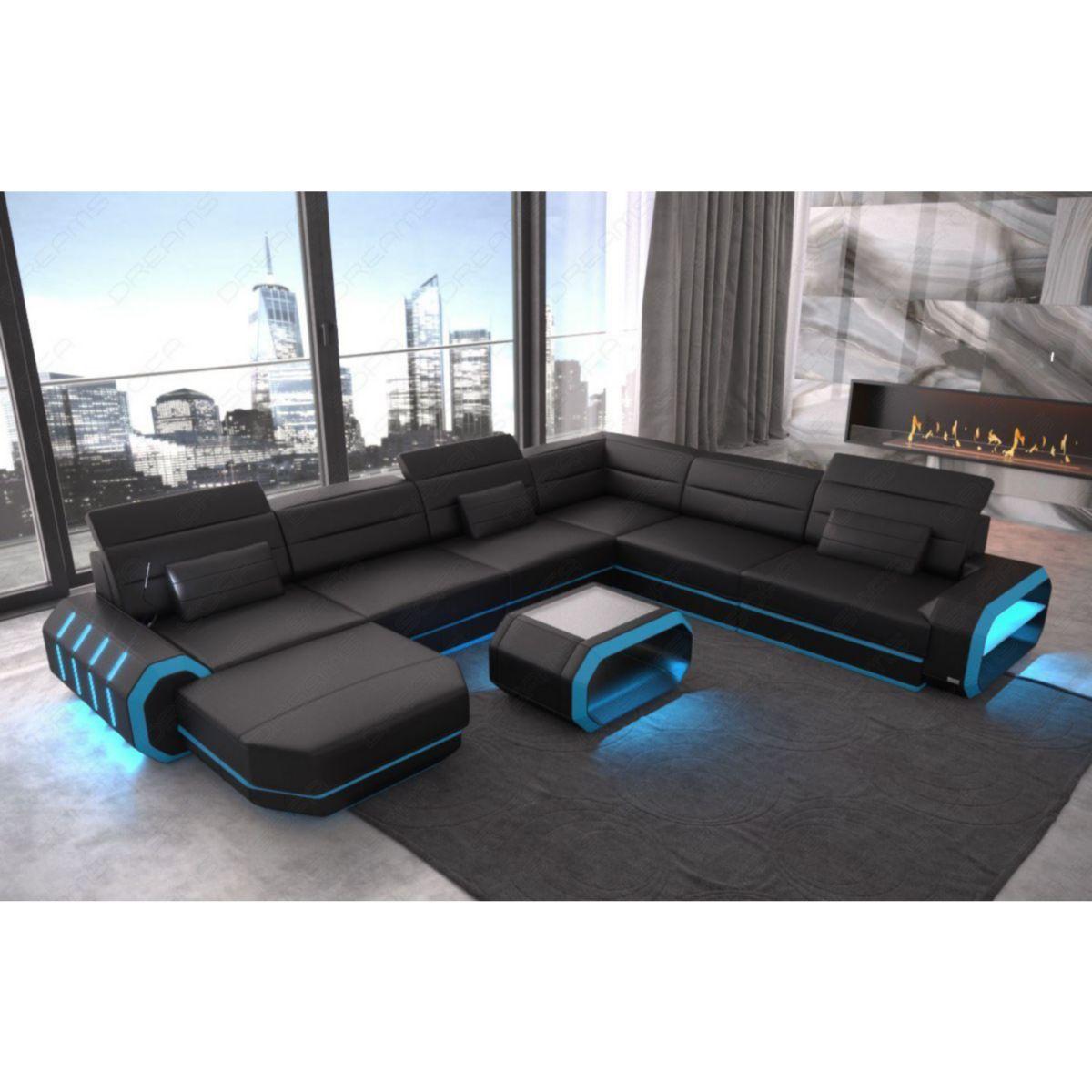 Sofa Dreams Wohnlandschaft Roma XXL