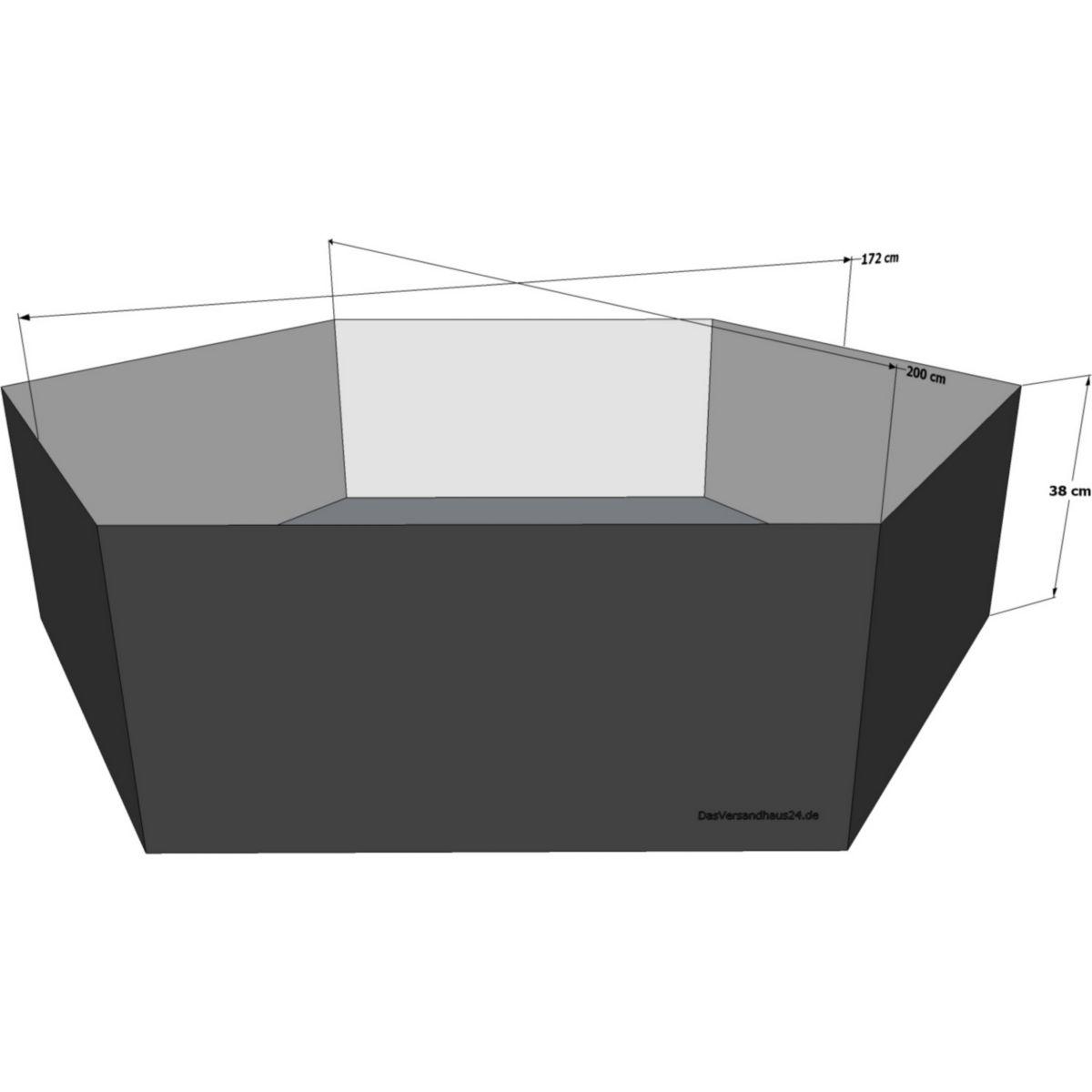 Hochteich Teich Einsatz Ø 200cm jetztbilligerkaufen