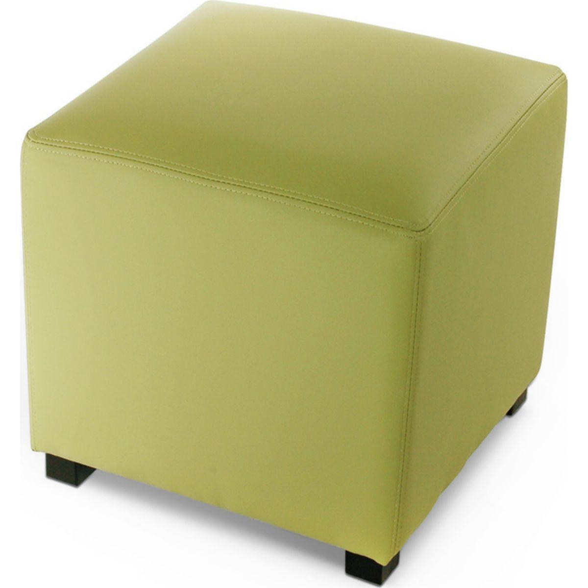 Cats Collection Hocker Sitzwürfel Lederimitat lemon grün jetztbilligerkaufen