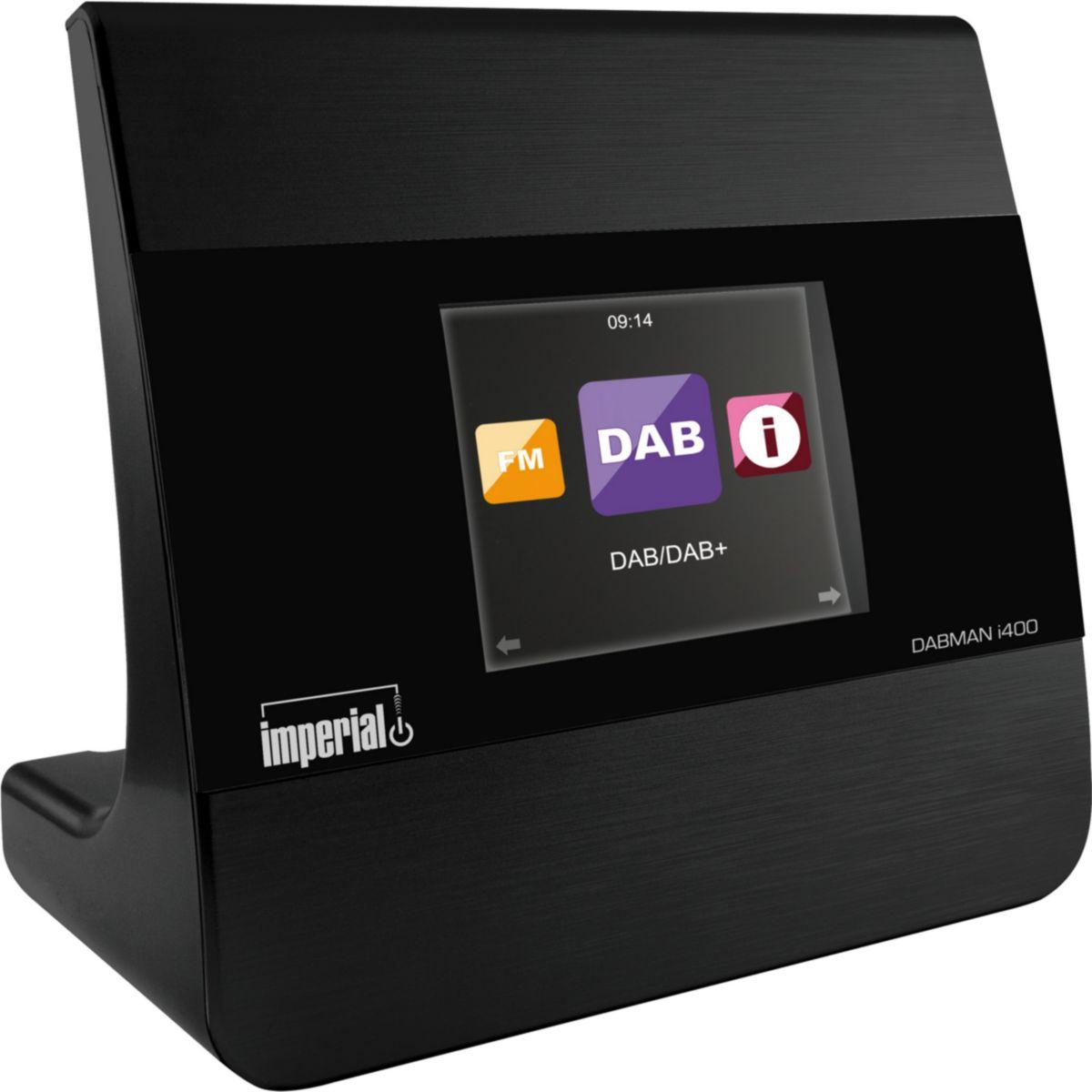 imperial Radio DABMAN i400 Internet/DAB+/DAB/UKW schwarz