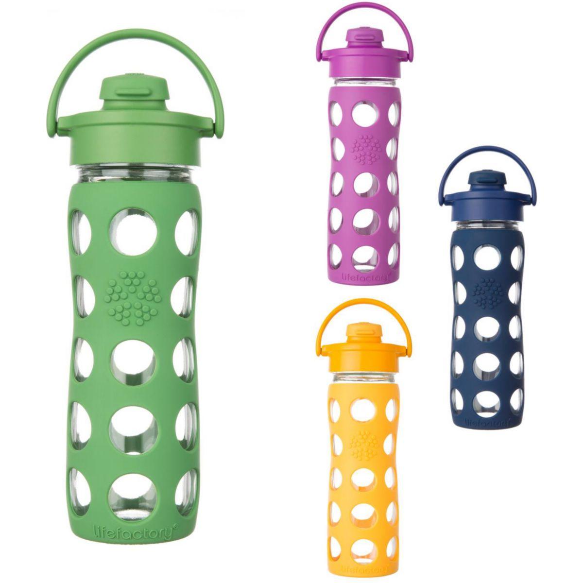 Lifefactory Trinkflasche ´´Flip Top Cap´´ in Grün - 475 ml 29% | Schulausstattung jetztbilligerkaufen