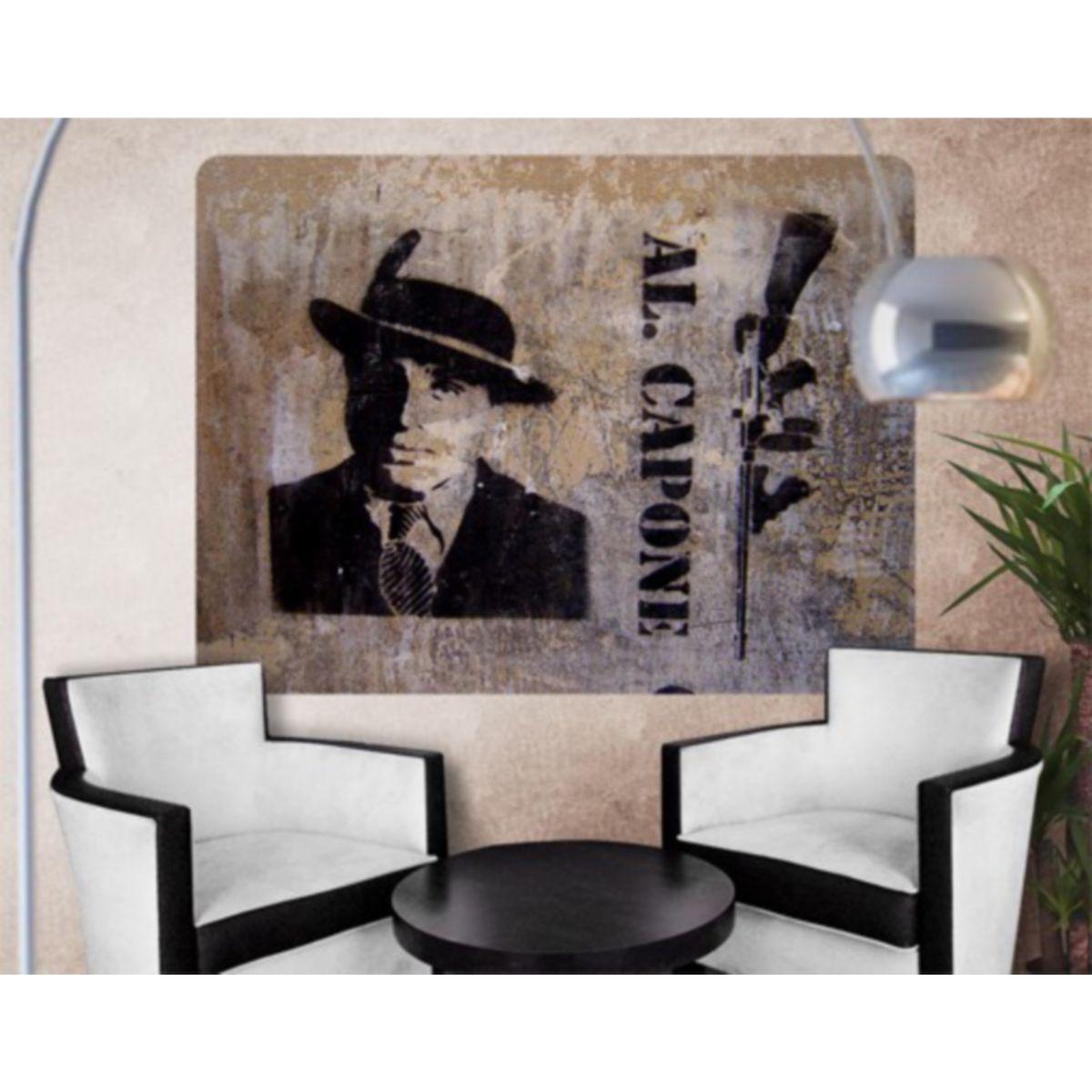 Selbstklebendes Wandbild Al Capone